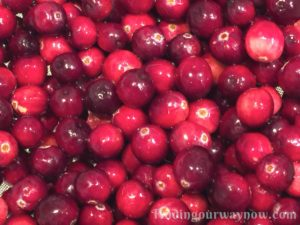 Just Plain Cranberry Sauce, findingourwaynow.com
