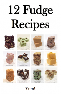 12 Fudge Recipes, findingourwaynow.com