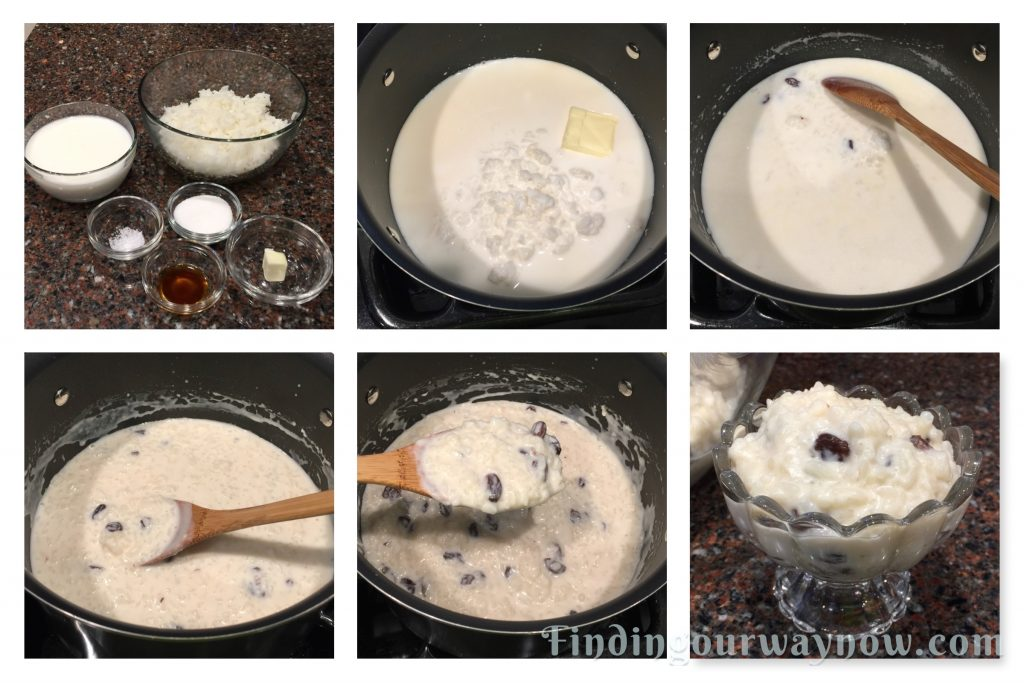 Quick Rice Pudding, findingourwaynow.com