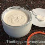 Homemade Crème Fraiche, findingourwaynow.com