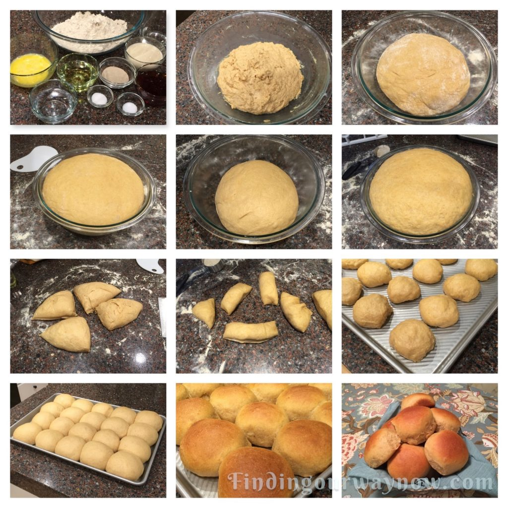 Whole-Wheat Rolls, findingourwaynow.com