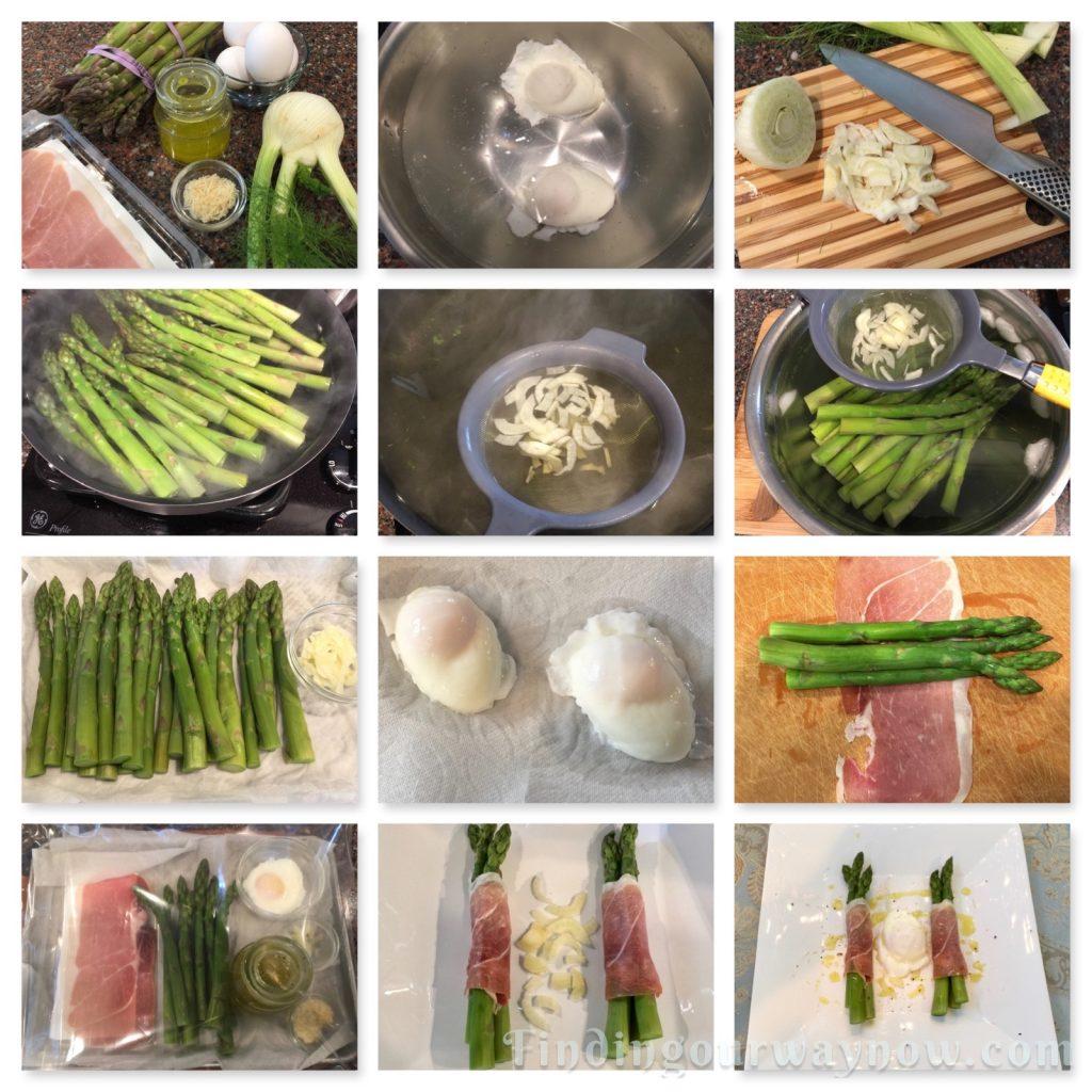 Summer Entrée Asparagus Salad, findingourwaynow.com