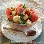 Watermelon, Feta Cheese, Herb Salad, findingourwaynow.com