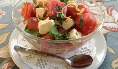 Watermelon, Feta Cheese, Herb Salad, findingourwaynow.com