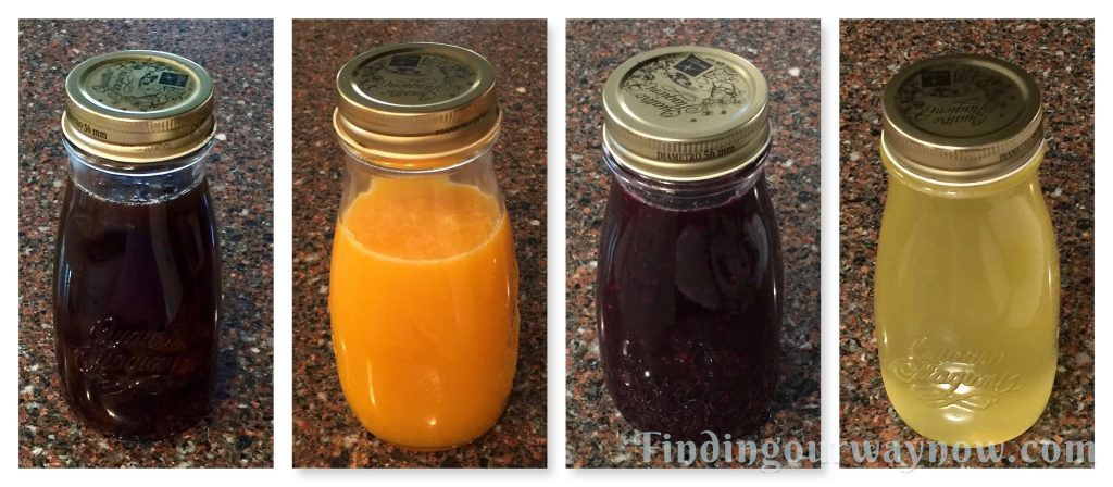 Homemade Syrups, findingourwaynow.com