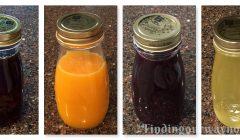 Homemade Syrups, findingourwaynow.com