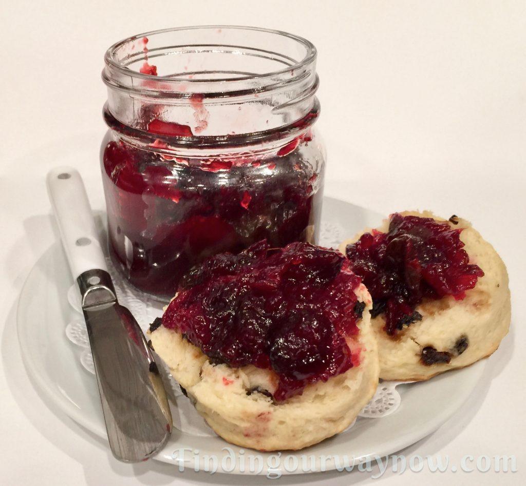 Cranberry Marmalade, findingourwaynow.com