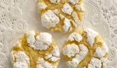 Homemade Lemon Crinkle Cookies, findingourwaynow.com