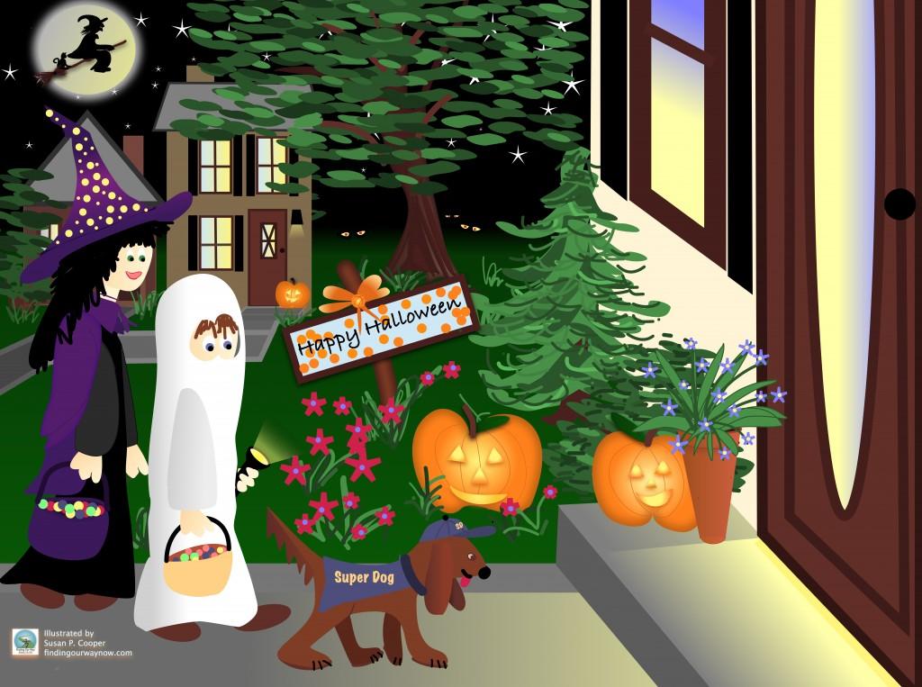 Kid On Halloween, findingourwaynow.com