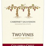 Columbia Crest Two Vines Cabernet Sauvignon, findingourwaynow.com