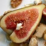 Fresh Figs and Honey Dessert, findingourwaynow.com