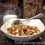 Homemade Granola, findingourwaynow.com