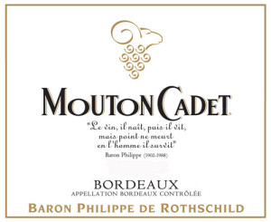 Mouton Cadet Bordeaux, findingourwaynow.com