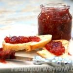 Fig Jam Recipe, findingourwaynow.com