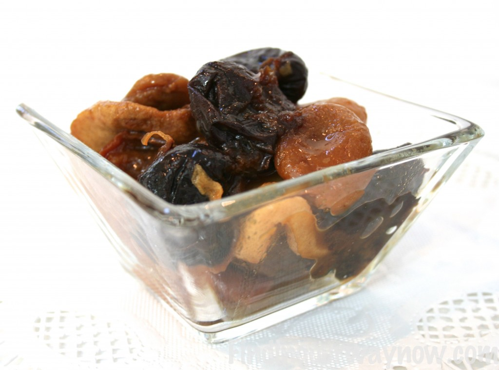 Easy Dried Fruits Compote, findingourwaynow.com