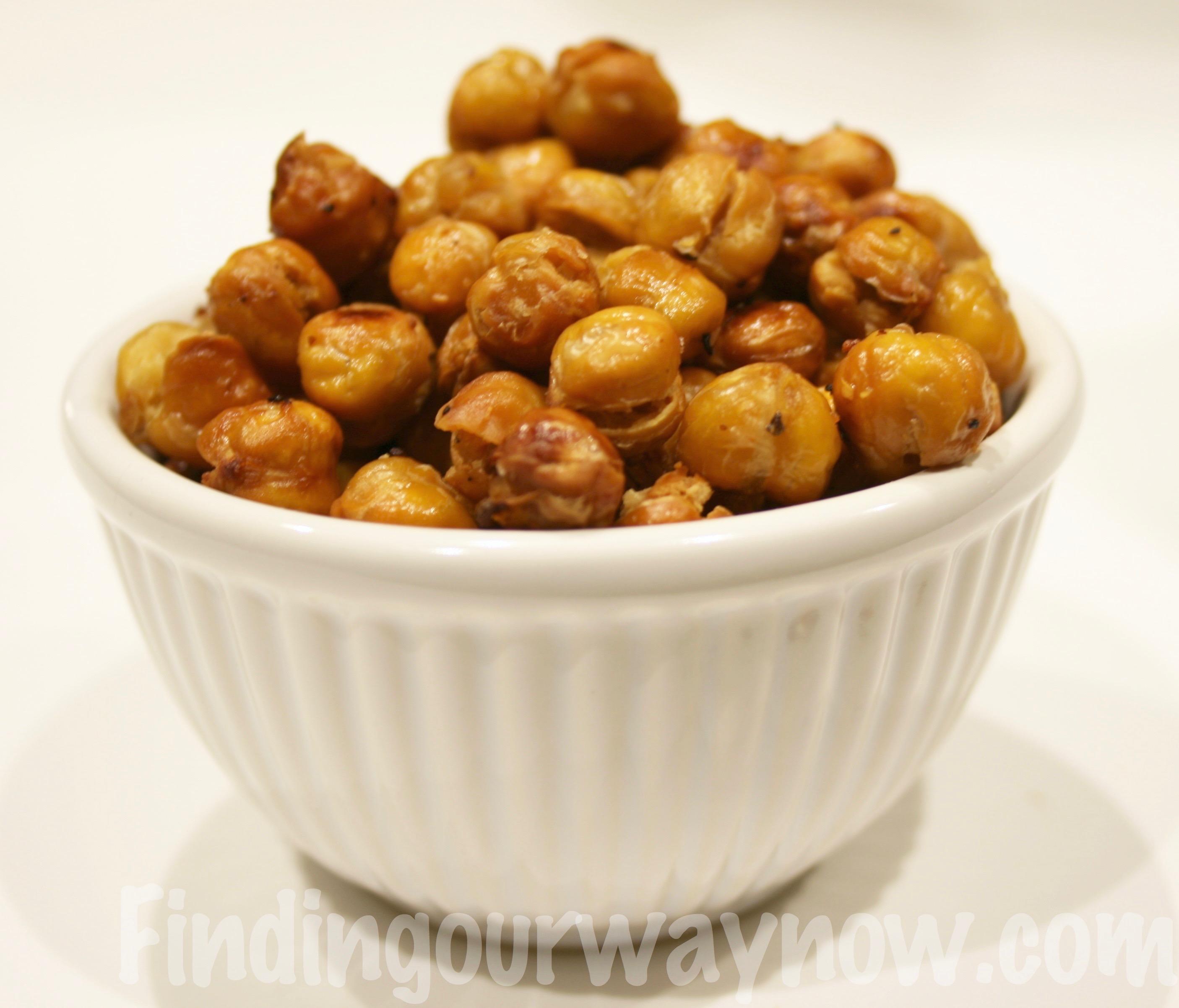Crunchy Garbanzo Bean Appetizer, findingourwaynow.com