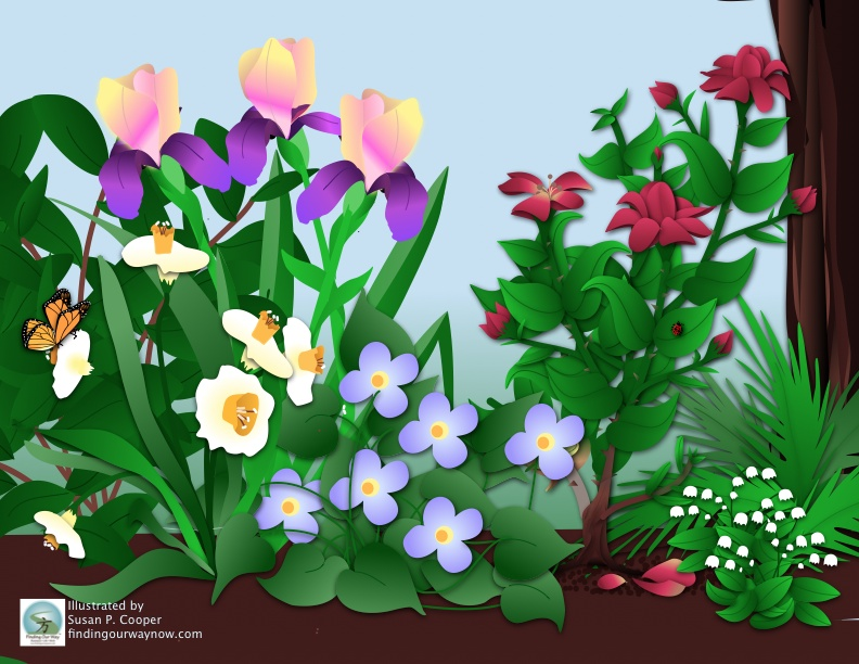 Friends and Flowers, findingourwaynow.com