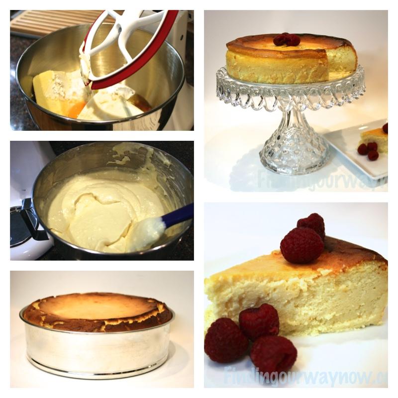 Homemade Italian Cheesecake, findingourwaynow.com