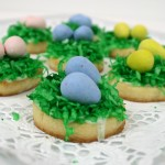 Birds Nest and Flower Easter Cookies, findingourwaynow.com