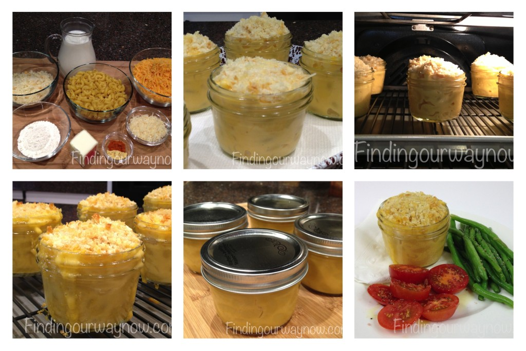 Macaroni and Cheese In A Jar, findingourwaynow.com