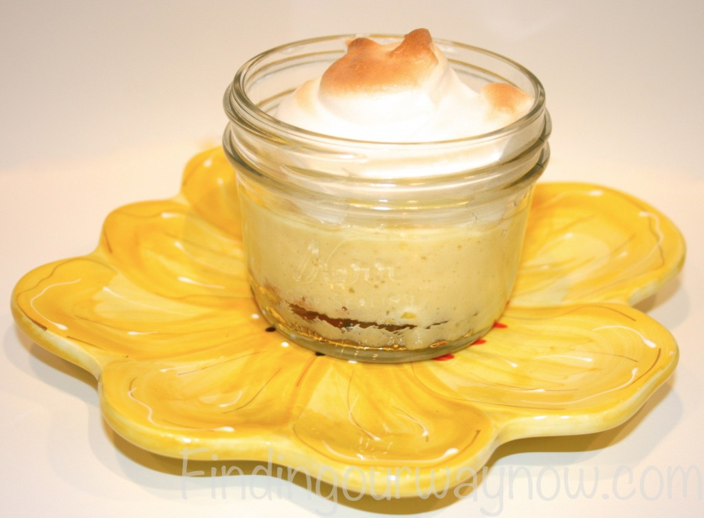 Lemon Meringue Pies In A Jar, findingourwaynow.com