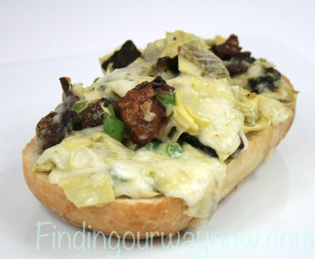 Artichoke Bread, findingourwaynow.com