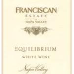 Franciscan Equilibrium White Blend, findingourwaynow.com