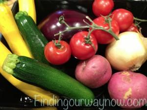 Summer Vegetable Casserole, findingourwaynow.com