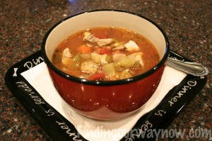 Easy Chicken Vegetable Soup, findingourwaynow.com