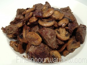 Beef Tips With Mushrooms, findingourwaynow.com