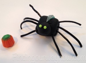 Halloween Spiders, findingourwaynow.com