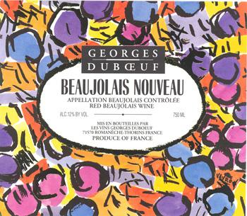 Beaujolais Nouveau, findingourwaynow.com