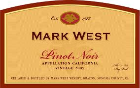 Mark West Pinot Noir. findingourwaynow.com
