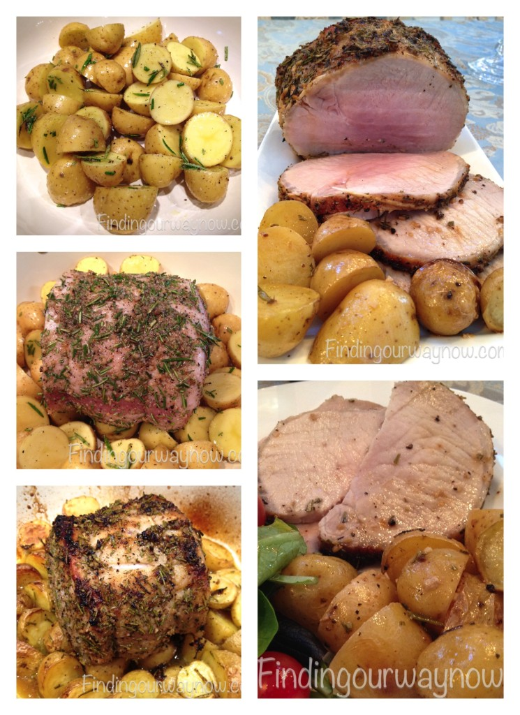 Rosemary Garlic Pork Roast, findingourwaynow.com