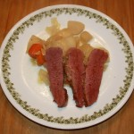 Corned Beef and Cabbage, findingourwaynow.com