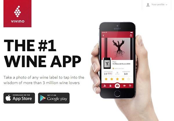 Image of Vivino Wine App
