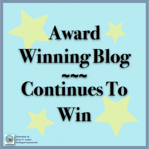Award Winning Blog Continues Winning, findingourwaynow.com