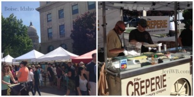 Picture of Boise Farmers Market Crepe Makers