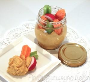 Hummus Recipe In A Jar, findingourwaynow.com