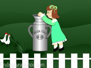 Milk Can Lesson, findingourwaynow.com