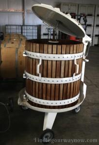 Antique Wine Press, findingourwaynow.com