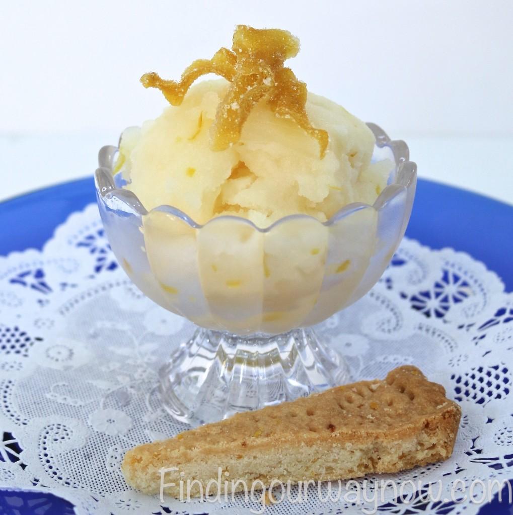 Lemon Sorbet, findingourwaynow.com