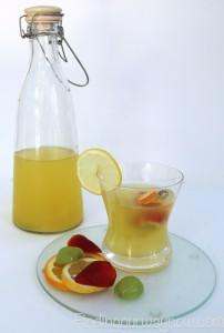 White Wine Lemon Sangria, findingourwaynow.com