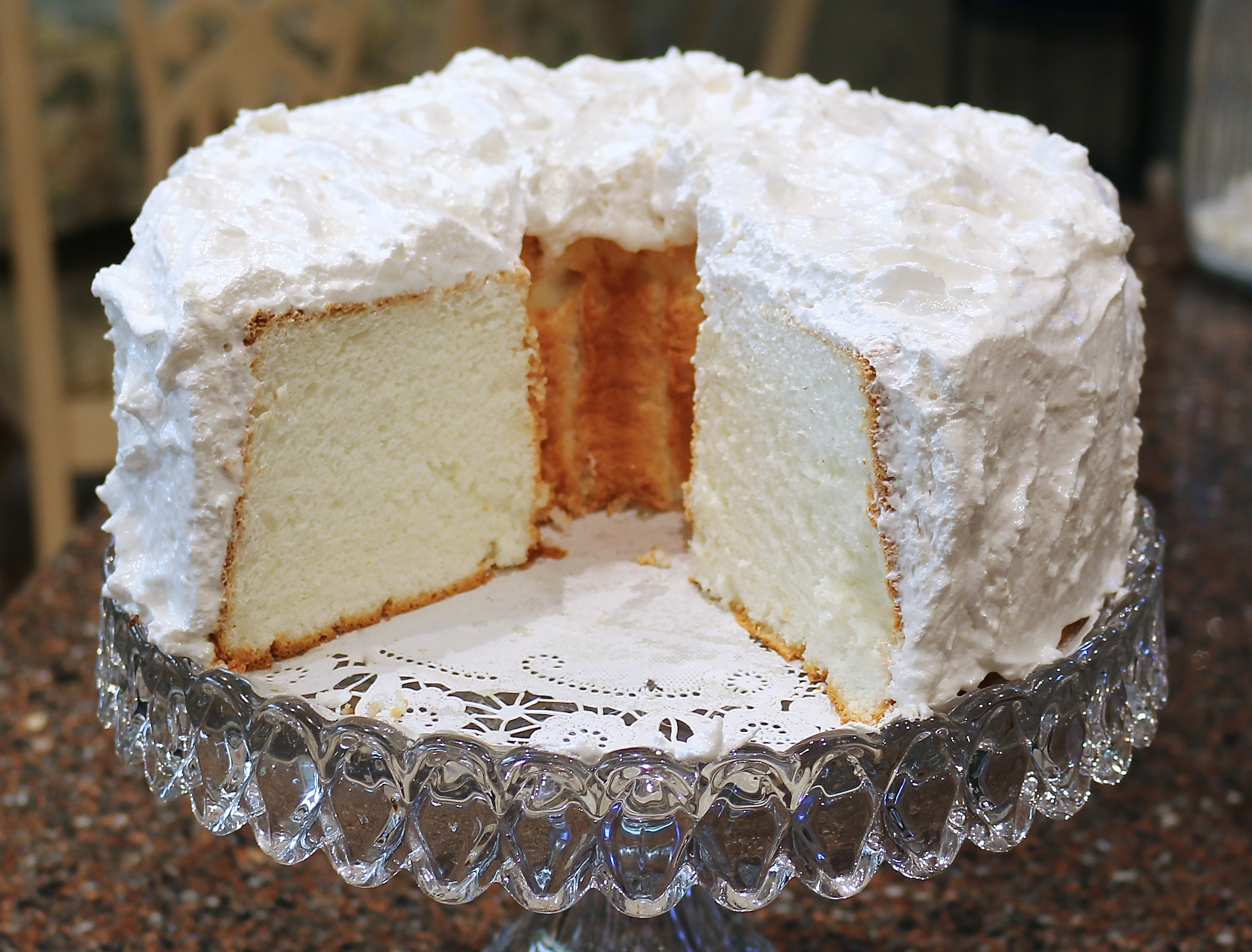 Angel Food Cake A Family Tradition Recipe Finding Our Way Now