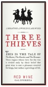 Joel Gott Sauvignon Blanc, Three Thieves Wine, findingourwaynow.com