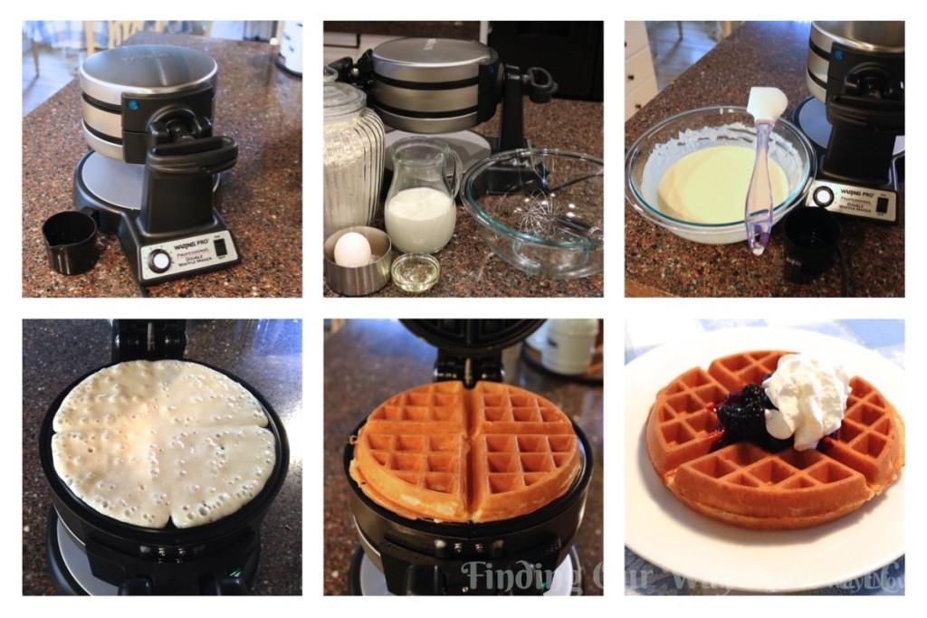 Homemade Belgian Waffles, findingourwaynow.com
