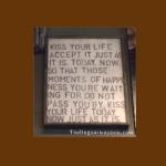 Kiss Your Life, findingourwaynow.com