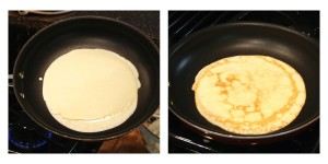 Homemade Crepe In A Pan, findingourwaynow.com