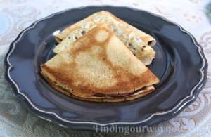 Homemade Crepes With Nutella, findingourwaynow.com