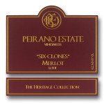 Peirano Estate Vineyards Six Clones Merlot, findingourwaynow.com